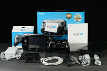 New sale For Nintendo Wii U Console - 32GB Black Deluxe Set BUNDLE 10 GAMES