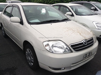 USED AUTOMOBILES FOR SALE IN JAPAN FOR TOYOTA COROLLA 4D G NZE121