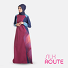 Silk Route Islamic Design House Islamic Clothing Abaya Jilbab - Rollicking Red Jilbab