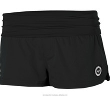 swimming shorts - board shorts - ladies Popular Wide Waistband Scrunch Sides Mid Rise Swim Shorts