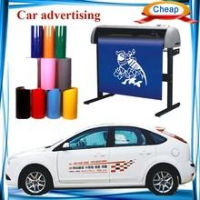 1360 mm width cutter plotter ,Car advertising self adhesive vinyl for cutting plotter ,cheap vinyl cutting plotter price