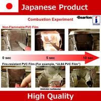 Japanese antistatic vinyl rolls wholesale with non-flammable function