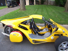 2003 T-Rex Campagna - 1200cc engine, 14k miles, well maintained - ready to ride today! YELLOW!