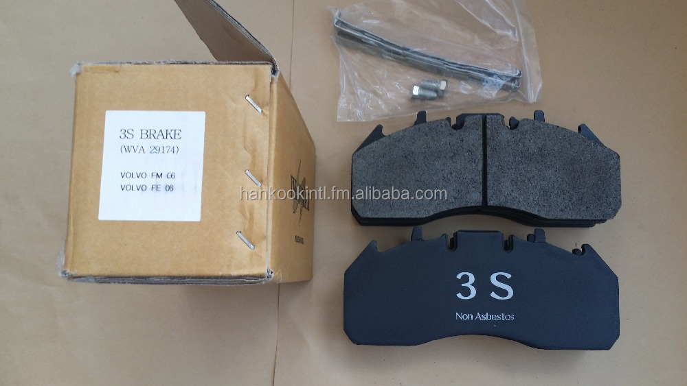 Brake Pad And Lining : Brake disc pads lining for commercial vehicles buy