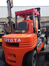 Used Toyota Forklift FD50,Original From Japan Used Toyota Forklift 5 ton