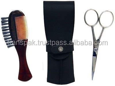beard moustache scissors grooming kit with comb buy. Black Bedroom Furniture Sets. Home Design Ideas