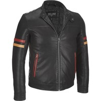Leather Motorbike jacket. Motorcycle jacket. Leather apparel. Cow hide leather jacket/2015 8963