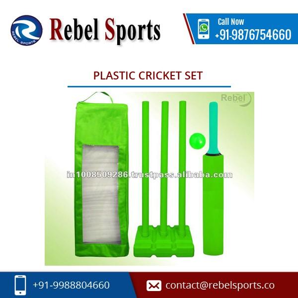 De alta Precisão do Material Feito de Plástico Duro conjunto de críquete para Venda