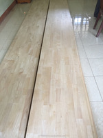 rubber wood staircase/wood stairs parts/Glued laminated timber/Acasia/Oak/rubber/pine