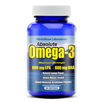 High Quality EPA / DHA Supplement 1000mg OMEGA 3 Fish Oil Capsules
