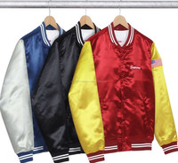 High quality new customize varsity polyester custom woman cheap spring jackets