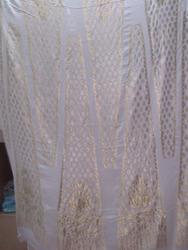 PURE CHIFFON SILK FABRIC FOR MAKING LONG KALI DRESS 140915