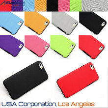 7 Colors - Slim Fit Thin Pattern Design PU & TPU Back Cover Case for iPhone 6 4.7 Inch USA, Los Angeles Wholesale