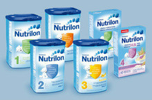 NUTRICIA Nutrilon Standard 1 to 5 milk powder Baby formula from Netherlands Holland Nutrilon