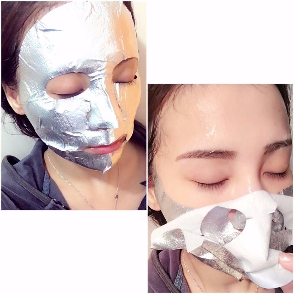 Наносить отбеливающую маску