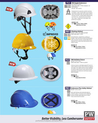 PW Safety Head and Hearing Protection - Helmets Bump Cap Ear Muffs Ear Plug