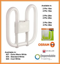 OSRAM 2D ENERGY SAVING FLUORESCENT TUBE Lamp Bulb - 16w 28w 38w - 2 / 4 PIN