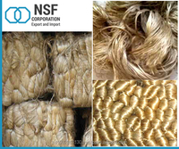 High Quality Bulk Eco Friendly Golden Natural Fibres Raw jute