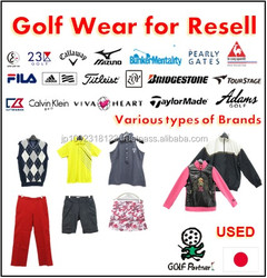 Cost-effective and Hot-selling recycled crumb rubber and golf wear for resell , deffer model also available
