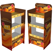 Cardboard display for Sweets,candy,chocolate,biscuits