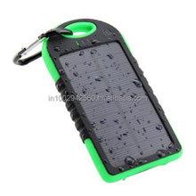 Waterproof Solar Power Bank 5000 mAh