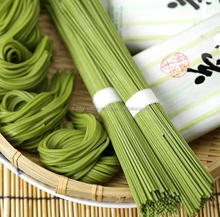 Healthy and Best-selling noodle matcha soba made in Japan