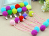 Wholesale Creative Colored Gift Wrapping Pompoms
