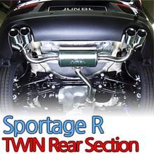 [JUN,B.L] Sportage R T-GDI - Twin Rear Section Muffler Set JBL3D-20176