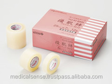Innovative and skin-friendly tape, medical and health products made in Japan