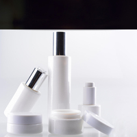 Glass White Bottles For Private label Low Minimum 30ml