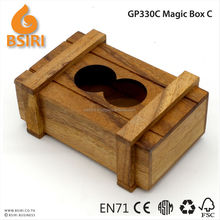Wood magic box puzzle mobile size