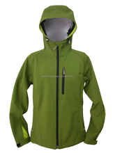 Waterproof soft shell jacket (softshell jacket) with hoodie