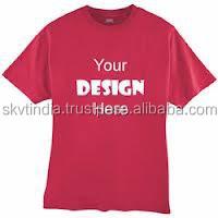 custom made customer design printed design your own t-shirt