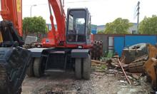 Hitachi Excavator Japan Used Hitachi EX100WD-1 Wheel Excavator With High Quality