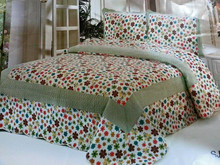 Bright colorful Floral used home bedsheet/full set bedding textile / Embroidery bedsheet / Disappear printed 100%polyester