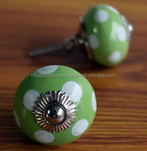 Shabby Chic Ceramic Knobs, Vintage Knobs and Pulls - 4