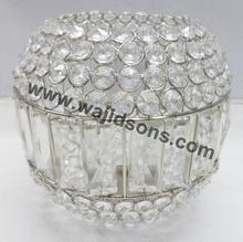 Classic shiny crystal votive for all types of occasion decoration