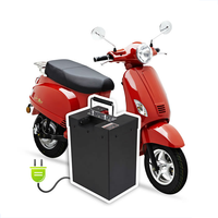 2015 NEW Energy Saving Electric Scooter Italian Design EEC Approved (PEDA MOTOR)