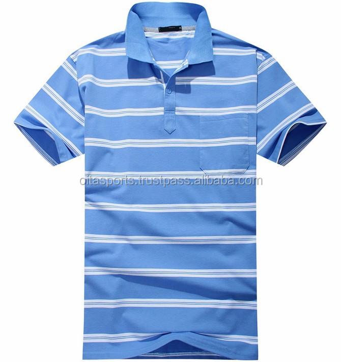 Striped Polo Shirt Wholesale
