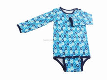 100% Organic cotton baby rompers