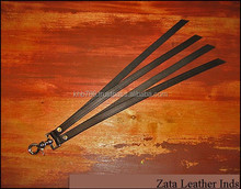 Fetish Fantasy sex toys passionate PU leather paddles, tawse for couples, four strand stinger Tawse