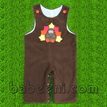 Turkey applique longall for Thanksgiving - BB349