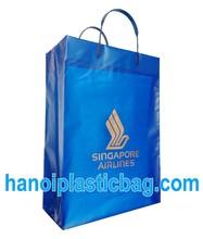 singapore air line- RIGID HANDLES POLYTHYLENE BAGS