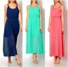 2015 Fashion Long Cocktail elegant women casual Chiffon summer dress P0117