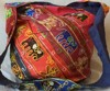 Dark Beauty Saree Patch Bags