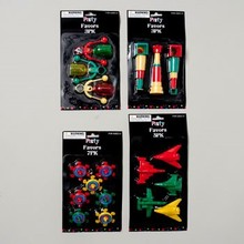 PARTY FAVOR 4ASST 3-7PC TOP/CLICKER/SCOPE/PLANES #G24635