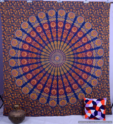 Indian Queen mandala tapestry wall hanging Cotton home decor tapestry ethanic wall & home decor tapestry decorative art