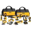 BUY 2 GET 1 FOR FREE for DEWALT DCK955X 18-Volt XRP Cordless 9-Tool Combo Kit...