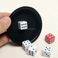 2015 New KingMagic Flying Dice Magic Props G0620 Party Magic Magical Super Fly Dice Conjuring Game, Flying color, magic props