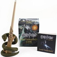 Harry Potter Lord Voldemorts Wand with Sticker Kit [Paperback]